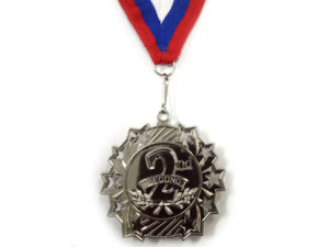 """Медаль с лентой """"Россия""""   1803: серебро - 3"""