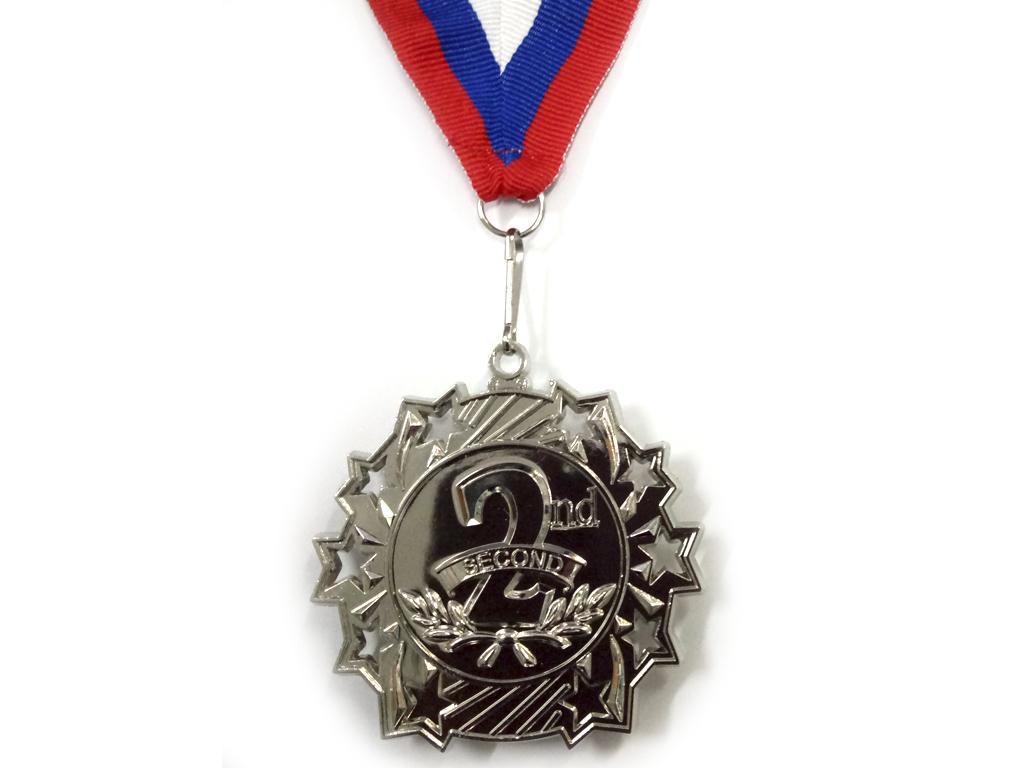 """Медаль с лентой """"Россия""""   1803: серебро - 1"""
