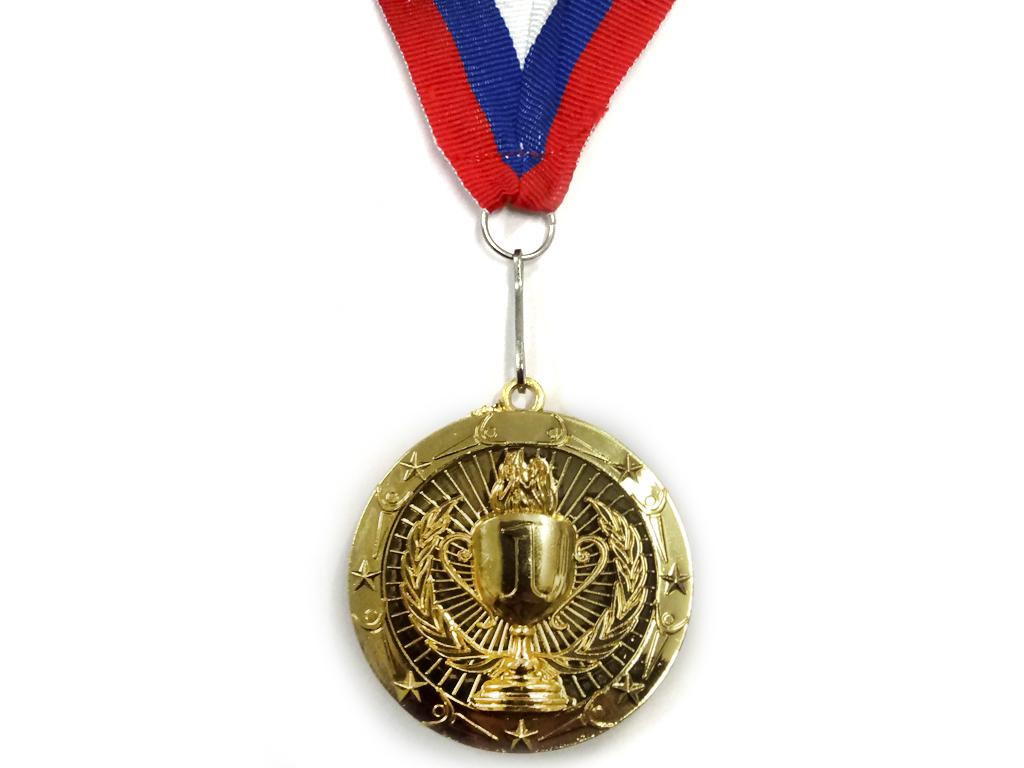 """Медаль с лентой """"Россия""""   1805: золото - 1"""