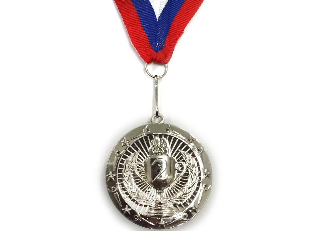 """Медаль с лентой """"Россия""""   1805: серебро - 1"""