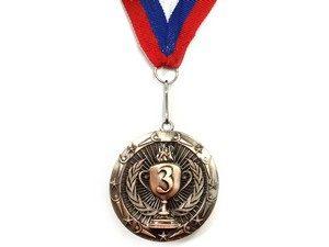 """Медаль с лентой """"Россия""""   1805: бронза - 3"""