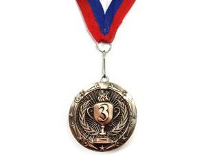 """Медаль с лентой """"Россия""""   1805: бронза - 1"""