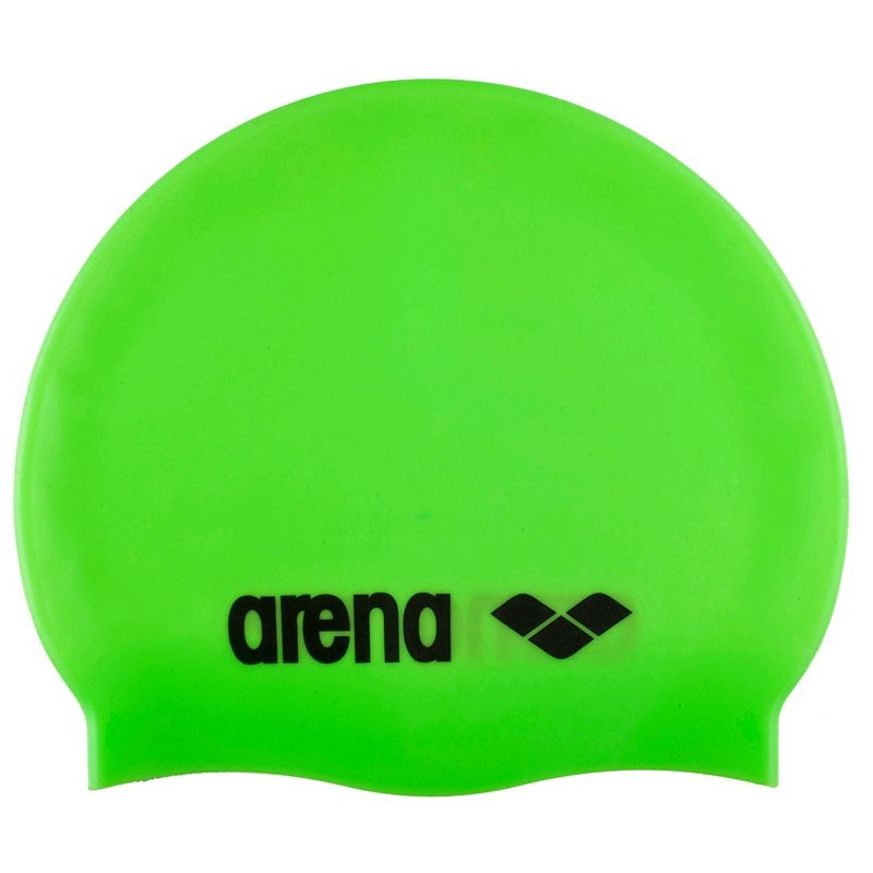 ARENA Classic Silicone Cap Шапочка для плавания  Аcid lime/black  91662 65 - 1