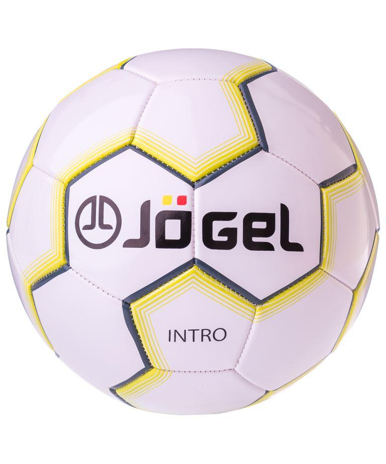 JOGEL Intro Мяч футбольный  JS-100 №5: белый - 1