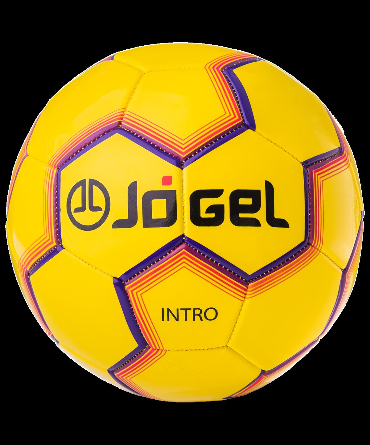 JOGEL Intro Мяч футбольный  JS-100 №5: жёлтый - 1