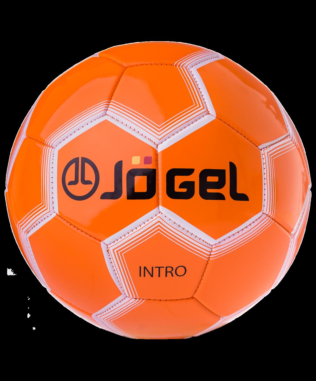 JOGEL Intro Мяч футбольный  JS-100 №5: оранжевый - 1