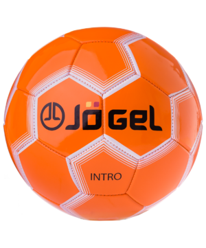 JOGEL Intro Мяч футбольный  JS-100 №5: оранжевый - 3