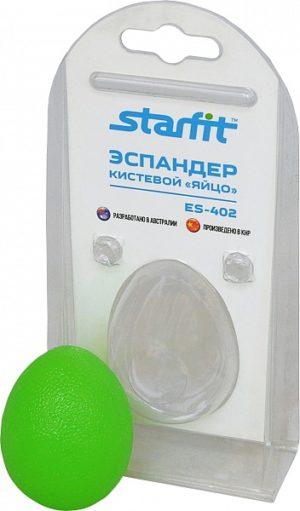 """STARFIT Эспандер """"Яйцо"""" кистевой ES-402: зелёный - 3"""