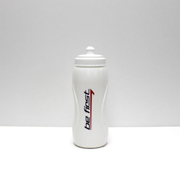 BE FIRST Бутылка  для воды SH209: белый - 1