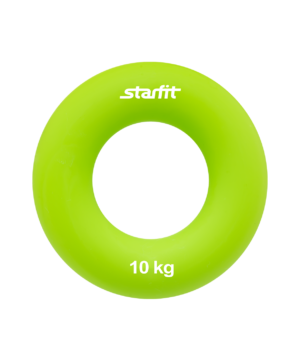"STARFIT Эспандер кистевой ""Кольцо"" 7 см. 10 кг. зеленый ES-403 - 6"