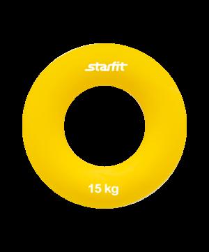 """STARFIT Эспандер кистевой """"Кольцо"""" 8,8 см. 15 кг. желтый ES-404 - 9"""