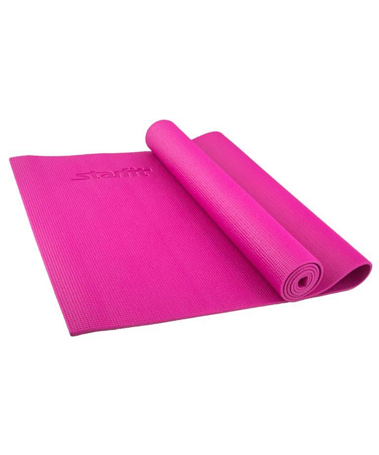STARFIT Коврик для йоги FM-101 173x61x0,5см: розовый - 1