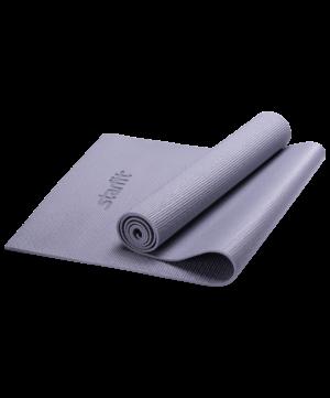 STARFIT Коврик для йоги FM-101 173х61х1,0см: серый - 10