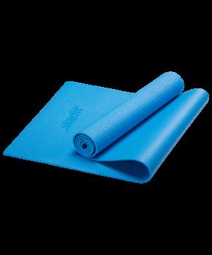 STARFIT Коврик для йоги FM-101 173х61х1,0см: синий - 3