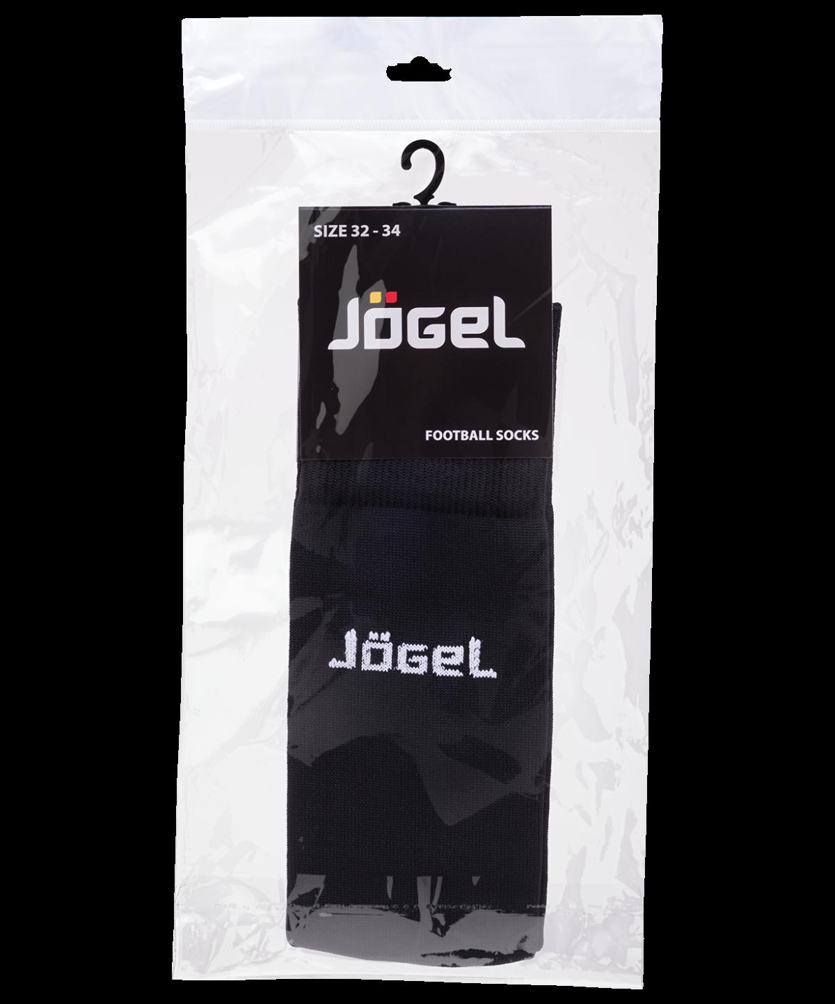JOGEL Гетры футбольные, черный/белый  JA-001 - 3