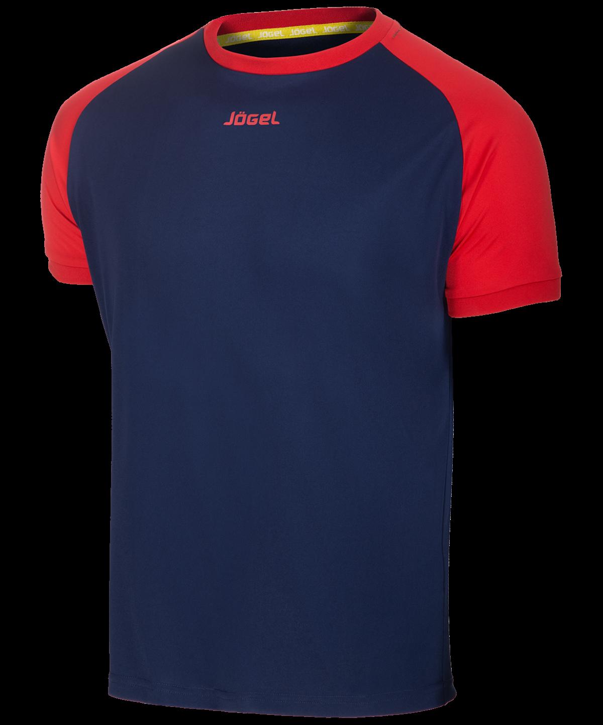 JOGEL Футболка футбольная, темно-синий/красный  JFT-1011-092 - 1