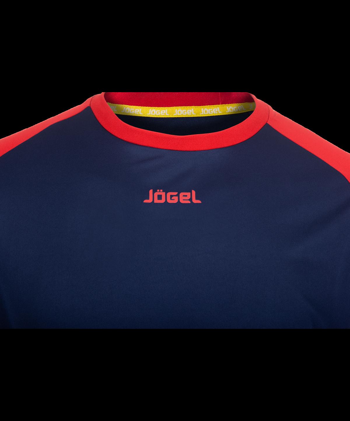 JOGEL Футболка футбольная, темно-синий/красный  JFT-1011-092 - 3