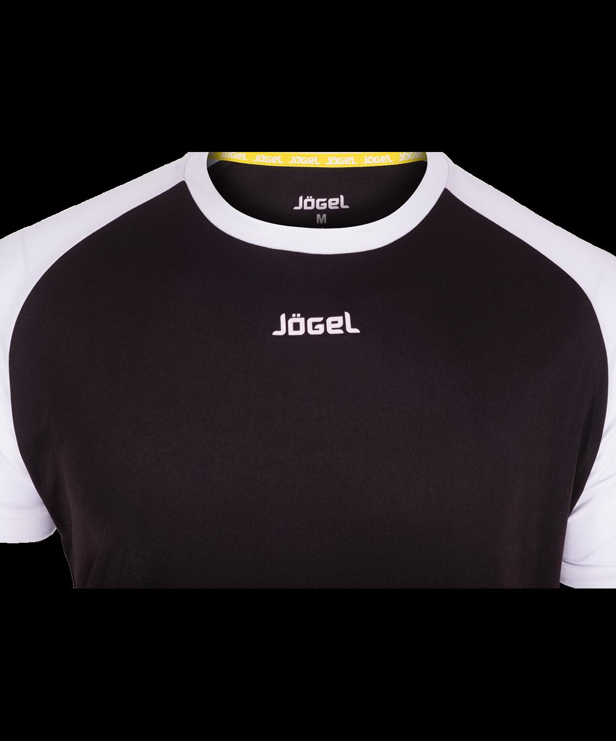 JOGEL Футболка футбольная, черный/белый  JFT-1011-061 - 3