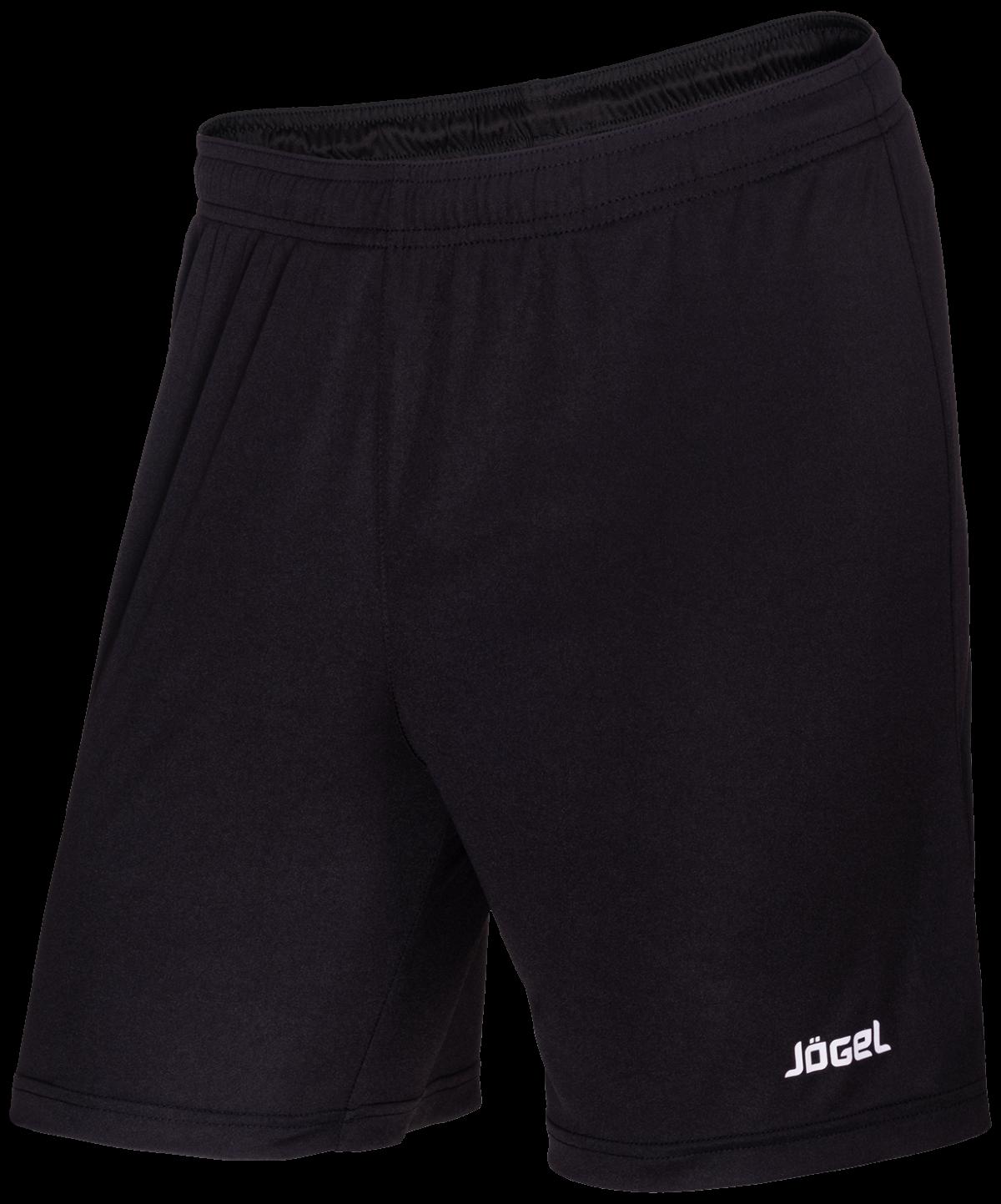 JOGEL Шорты футбольные, черный/белый  JFS-1110-061 - 1