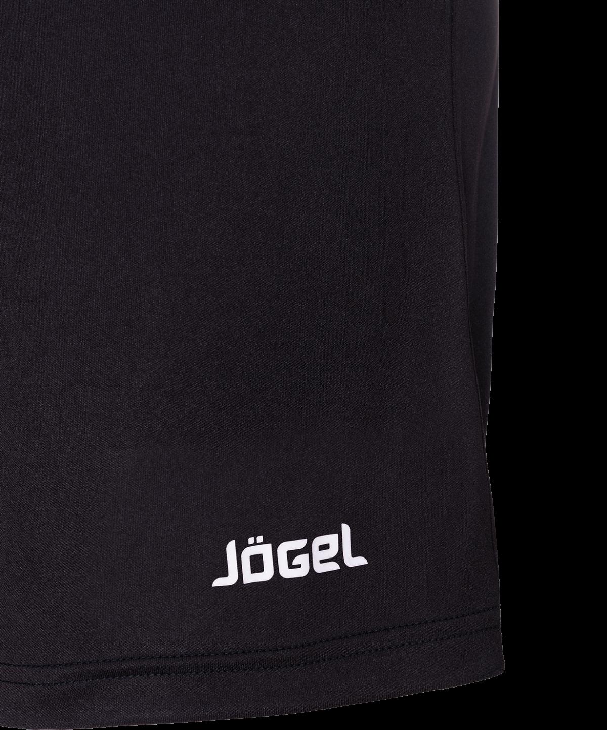 JOGEL Шорты футбольные, черный/белый  JFS-1110-061 - 3