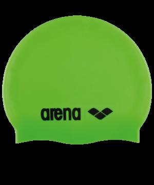 ARENA Шапочка для плавания Classic Silicone JR Acid lime/Black  91670 65 - 17