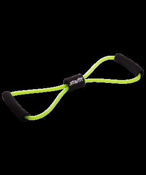 """STARFIT Эспандер """"Восьмерка"""", 6х9х1000 мм, 5 кг зеленый  ES-603 - 7"""