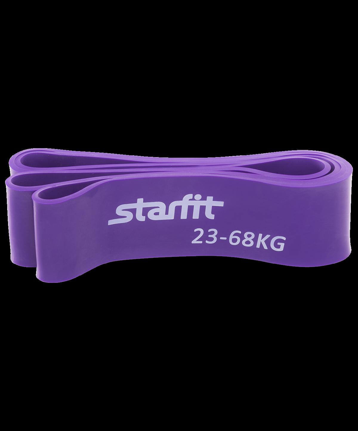 STARFIT Эспандер ленточный, 23-68 кг, фиолетовый  ES-801 - 1