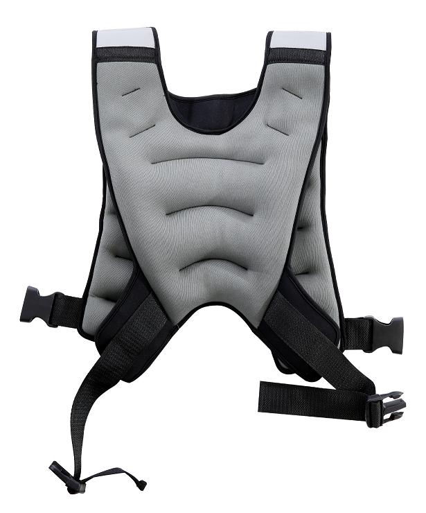 STARFIT Жилет-утяжелитель серый, 10 кг WT-301 - 2