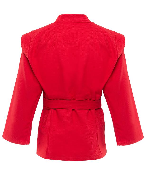 GREEN HILL Куртка для самбо 00/120  JS-302: красный - 2