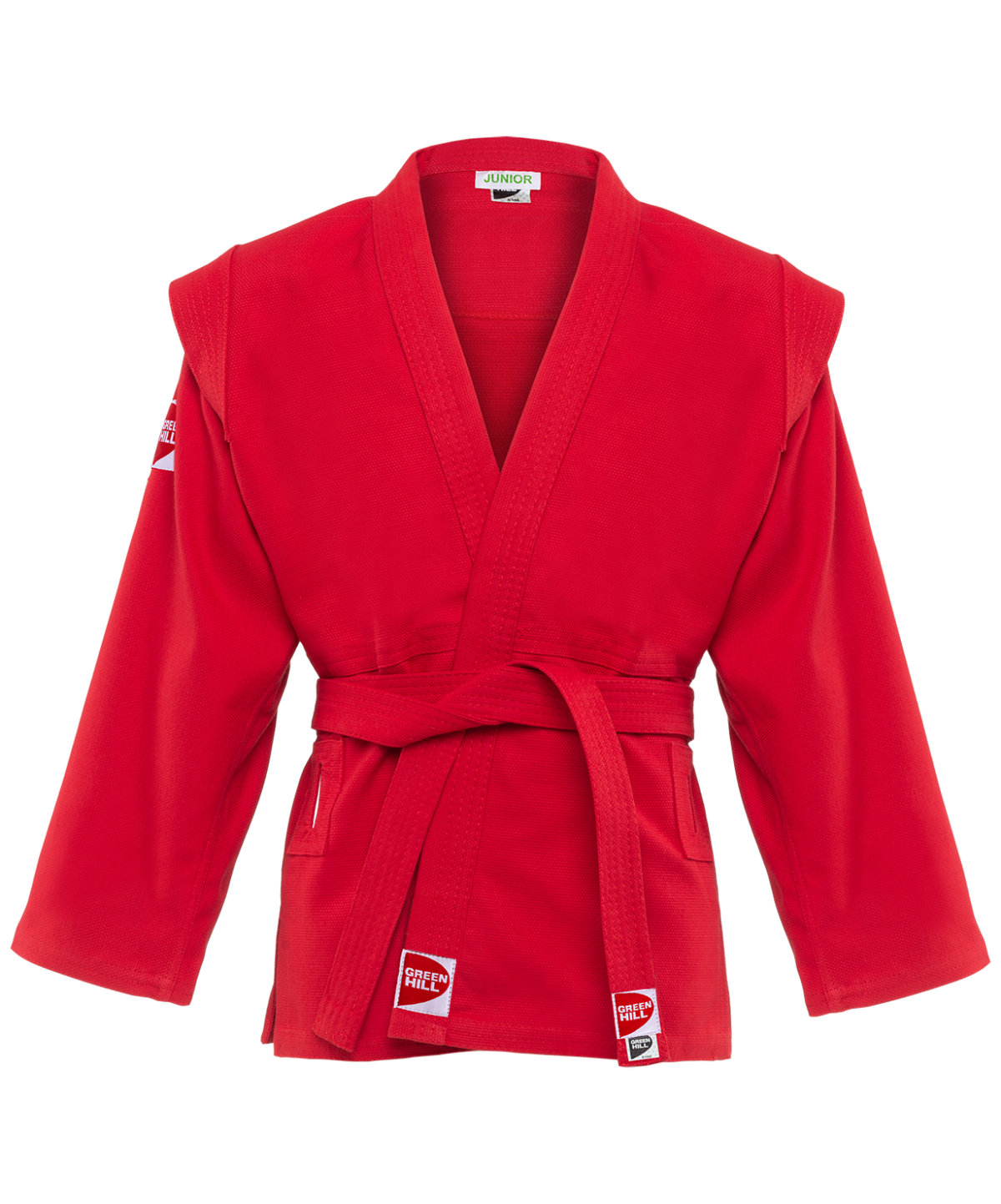 GREEN HILL Куртка для самбо Junior 1/140  SCJ-2201 - 1
