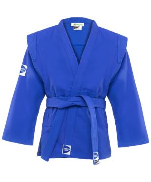 GREEN HILL Куртка для самбо Junior 2/150  SCJ-2201: синий - 15