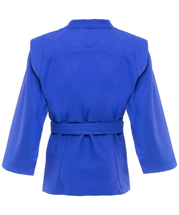 GREEN HILL Куртка для самбо Junior 2/150  SCJ-2201: синий - 2