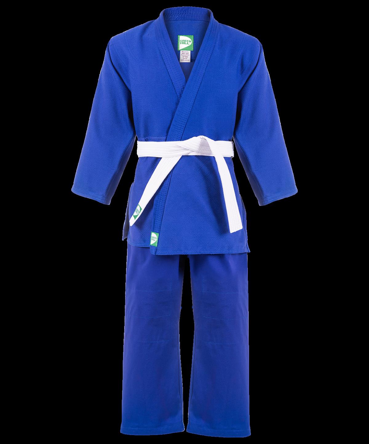 GREEN HILL Кимоно дзюдо 4/170  MA-301: синий - 1