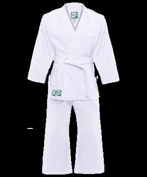 GREEN HILL Кимоно дзюдо 0/130  MA-302: белый - 8