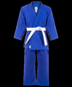 GREEN HILL Кимоно дзюдо 0/130  MA-302: синий - 9