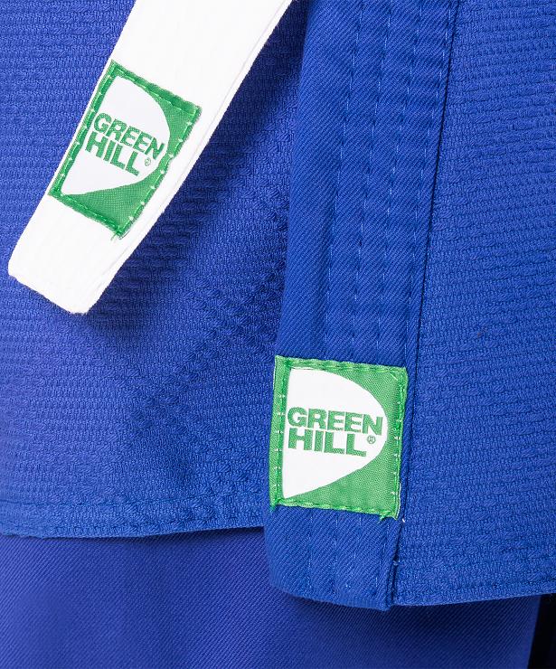 GREEN HILL Кимоно дзюдо 0/130  MA-302: синий - 3