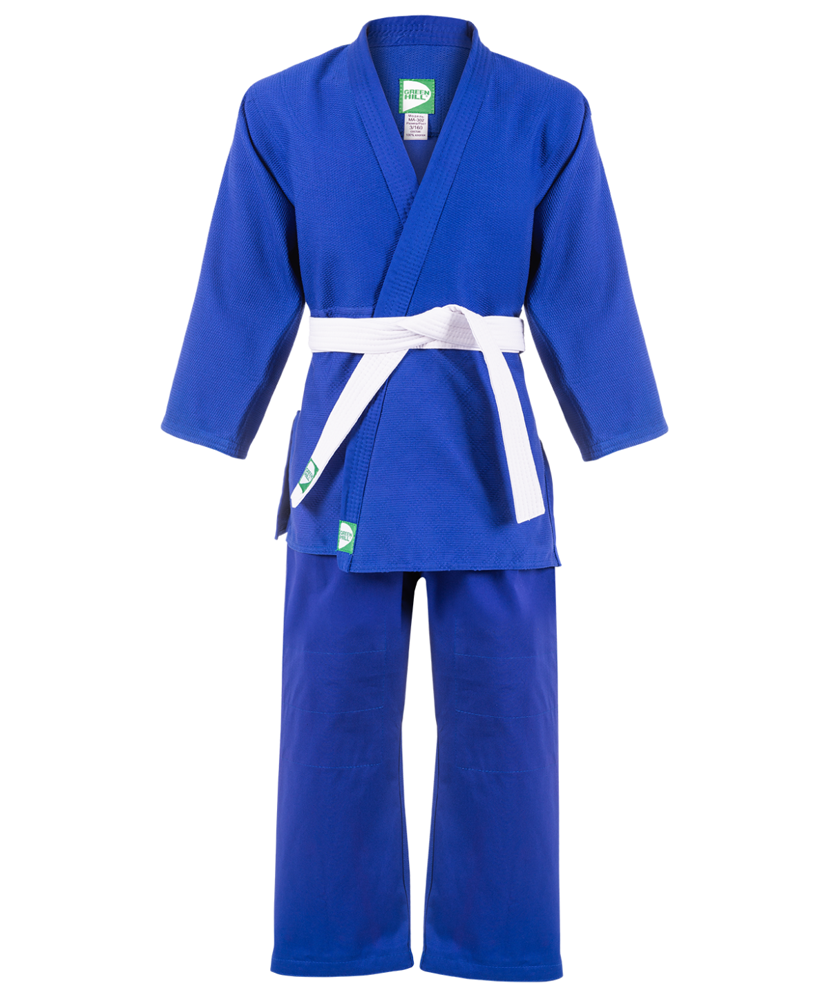 GREEN HILL Кимоно дзюдо 1/140  MA-302: синий - 1