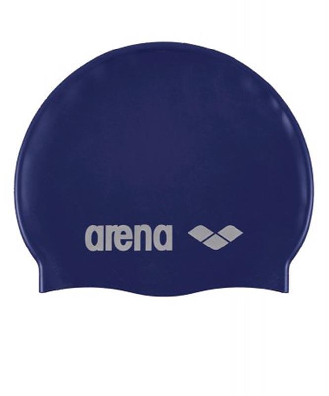 ARENA Classic Silicone Cap denim/silver Шапочка для плавания  91662 71 - 1