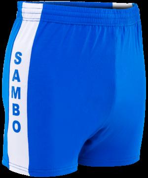 Шорты для самбо, размер 34-42  9109: синий - 20