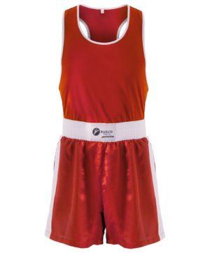 RUSCO Форма боксерская взрослая, размеры: 44-54  BS-101: красный - 7