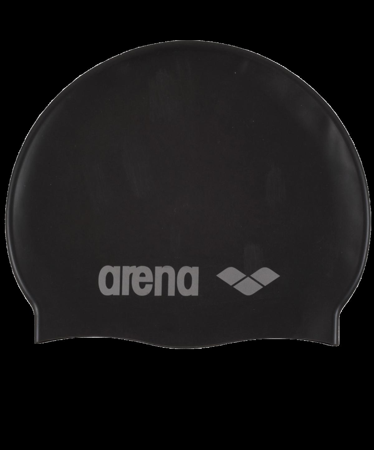 ARENA Шапочка для плавания Classic Silicone JR Black/Silver  91670 55 - 1