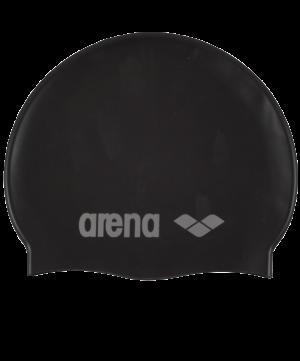 ARENA Шапочка для плавания Classic Silicone JR Black/Silver  91670 55 - 18