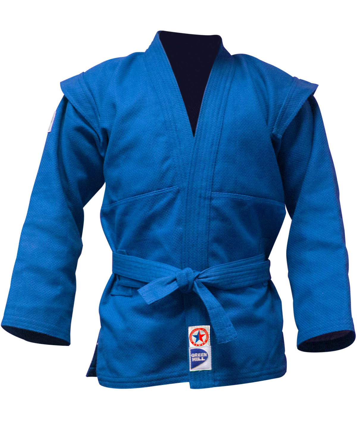 GREEN HILL Куртка для самбо  JS-303: синий - 1