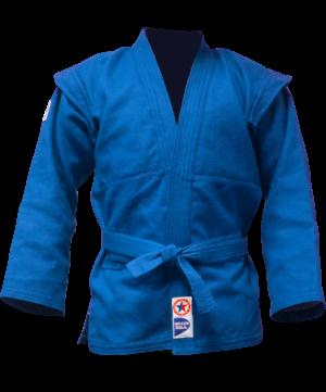 GREEN HILL Куртка для самбо  JS-303: синий - 2