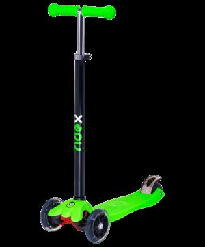 RIDEX Snappy 3D Самокат 3-х колесный 120/80 мм  Snappy: зелёный - 6