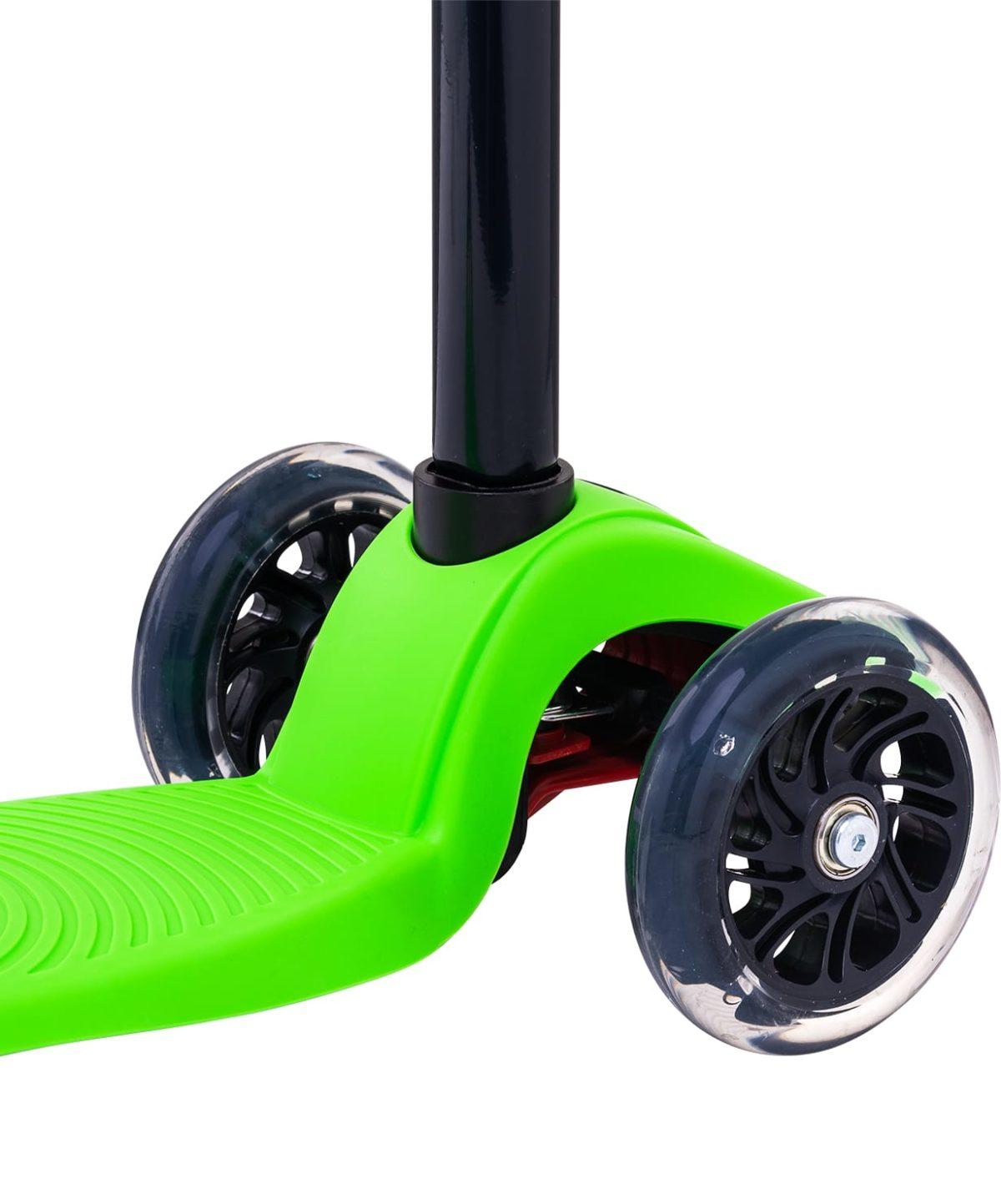 RIDEX Snappy 3D Самокат 3-х колесный 120/80 мм  Snappy: зелёный - 5