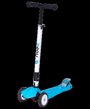 RIDEX Smart 3D Самокат 3-х колесный 120/80 мм  Smart: синий - 4
