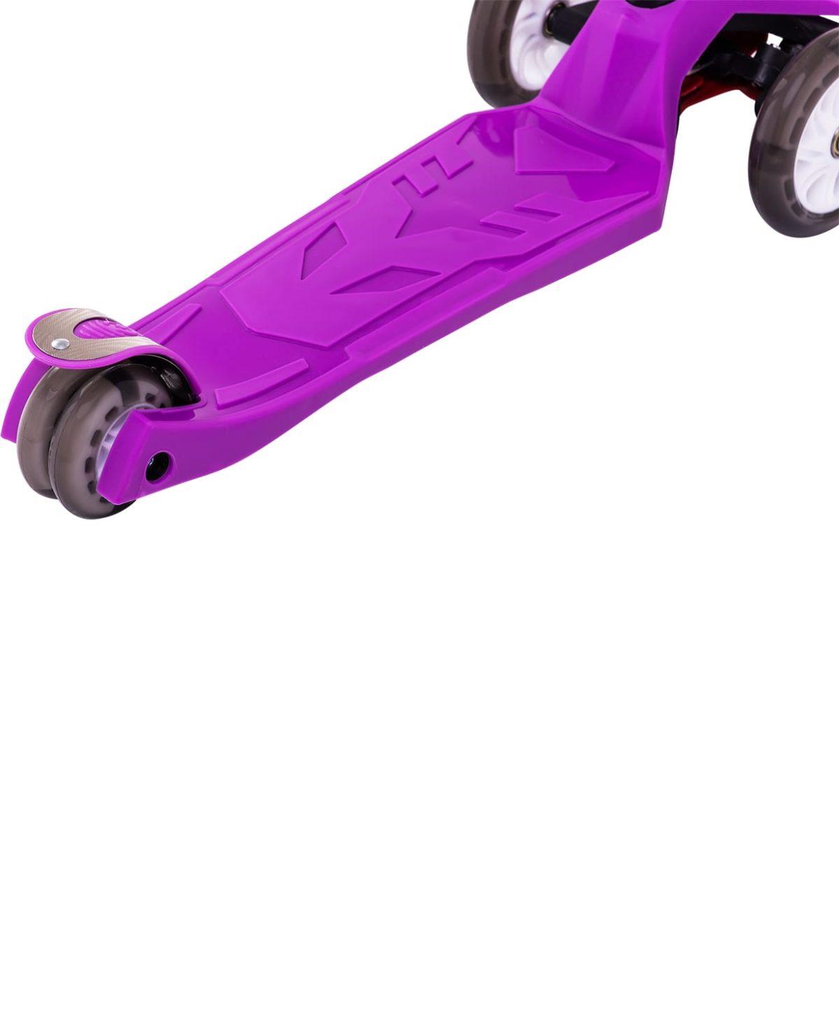 RIDEX Smart 3D Самокат 3-х колесный 120/80 мм  Smart: фиолетовый - 5