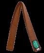 GREEN HILL Пояс для единоборств  KBO-1014: коричневый - 1