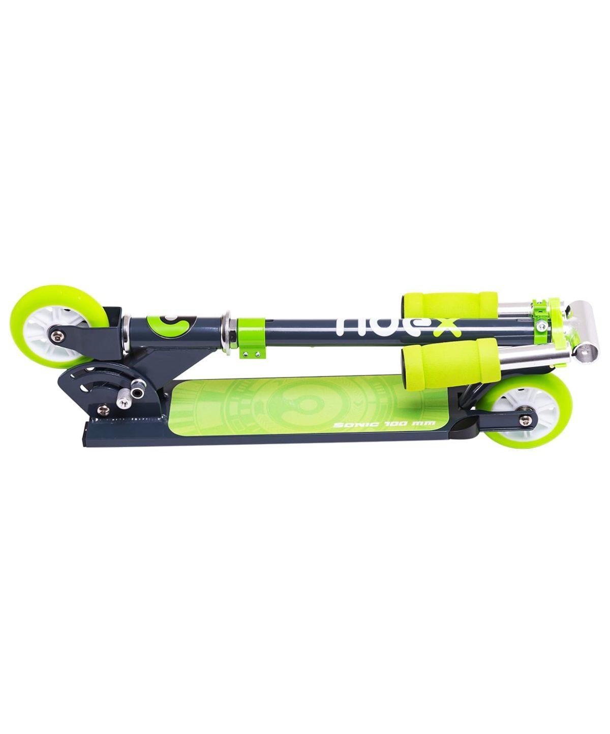 RIDEX Sonic Самокат 2-колесный  100 мм  Sonic: зелёный - 6